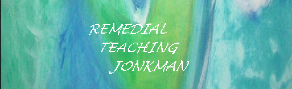 Remedial Teaching Jonkman